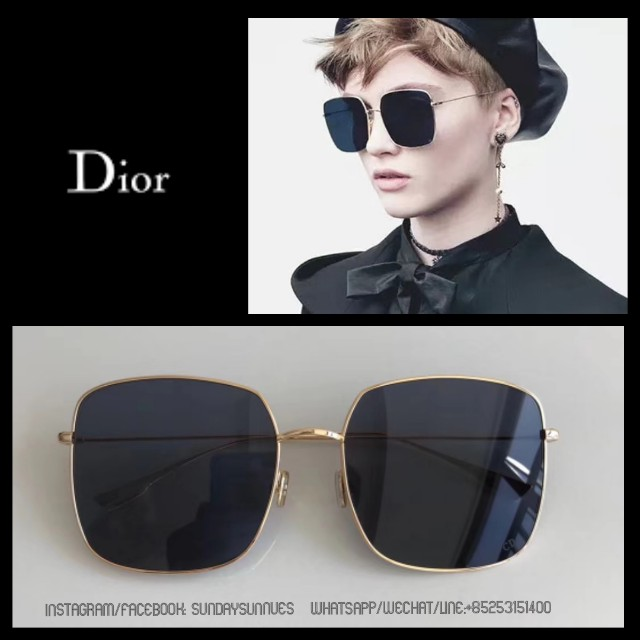 722db41d457b Dior stellaire 1 square titanium sunglasses