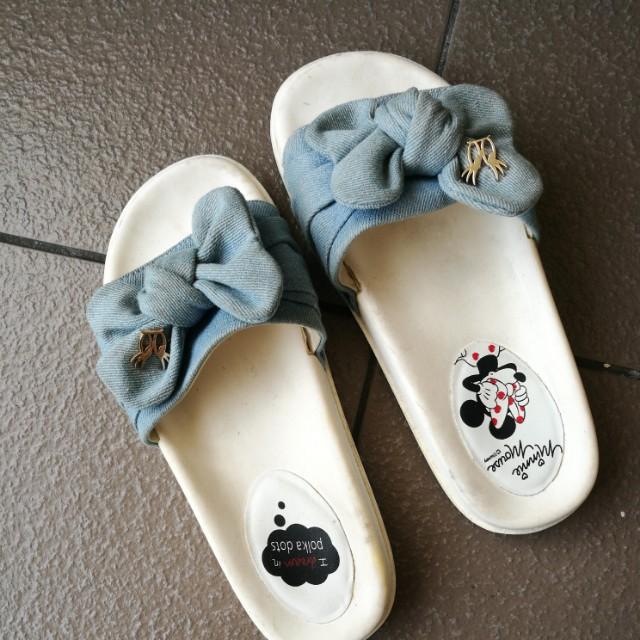 Disney Minnie Slippers by Gracegift