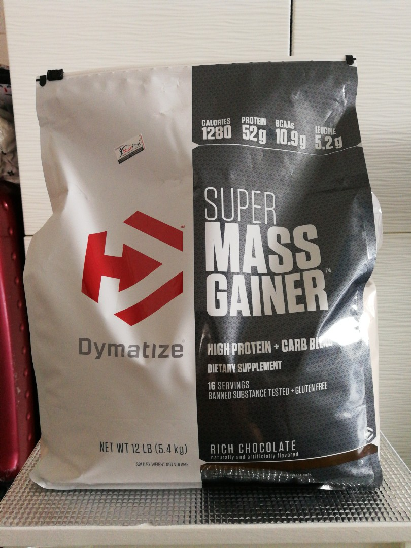 Dymatize Super Mass Gainer Sports Games Equipment On 2 Lbs Photo