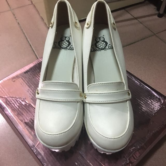 【D.Z】SHOP🎀現貨❤️韓系粗跟厚底高跟鞋23號