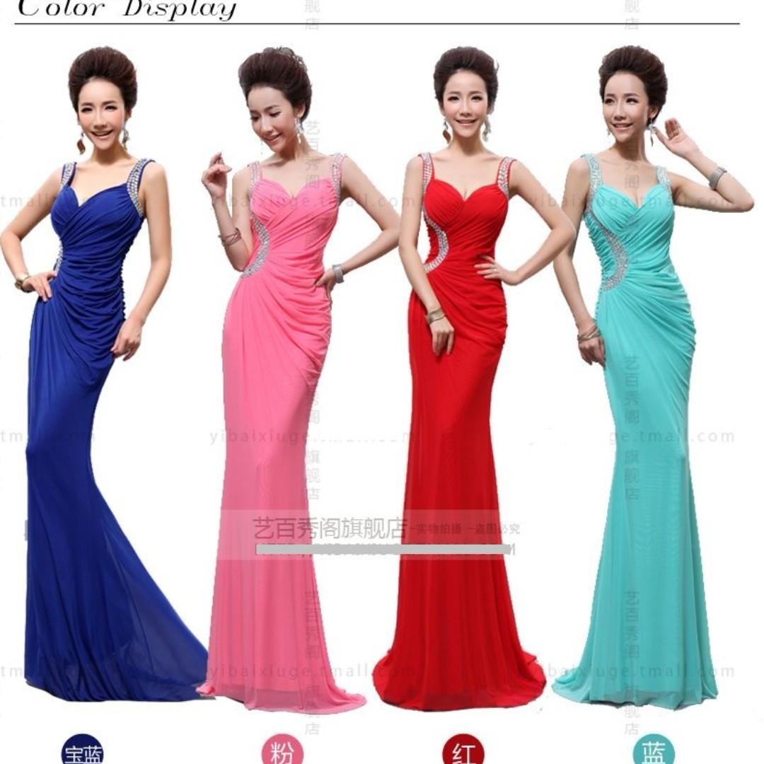 EG0128 Plus Size Evening Gown, Prom Dress, DND Dress, ROM Dress R2 ...