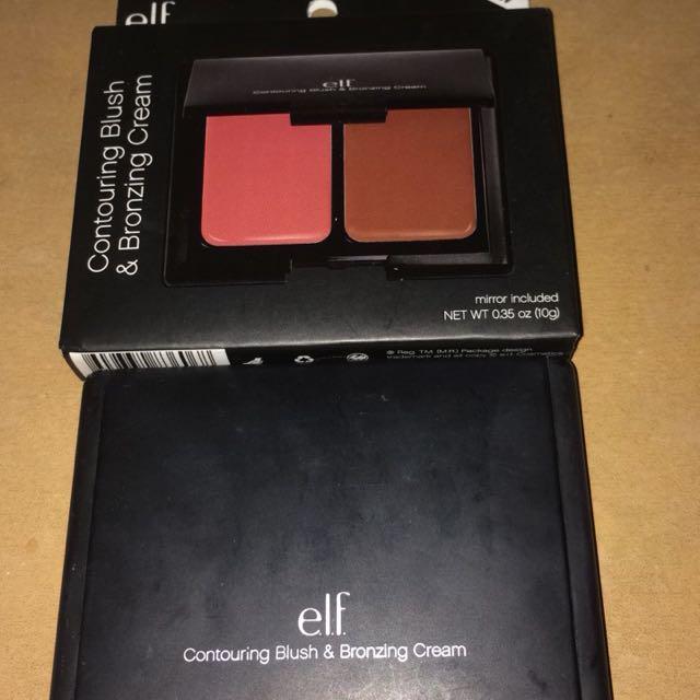 Elf contouring blush & bronzing cream