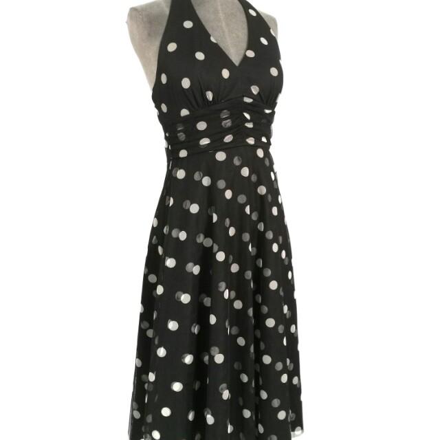 Eliza J (New York)  vintage polka dot frock  sz 10