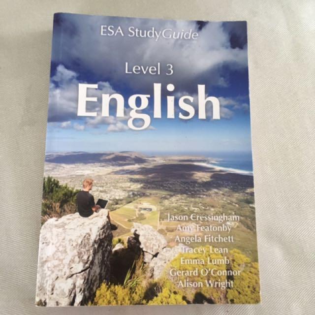 English ESA Study Guide Level 3 || 2017