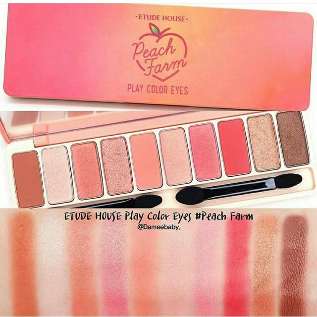 Etude House Peach Color Eyes Peach Farm