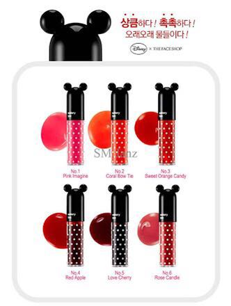 Faceshop DISNEY Mickey Watery Tint No. 04