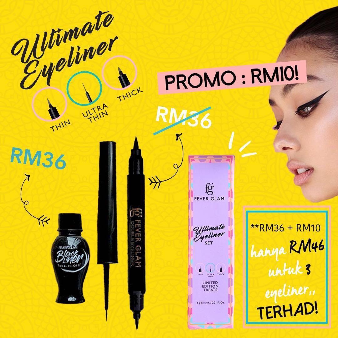 Fever Glam Ultimate Eyeliner Set