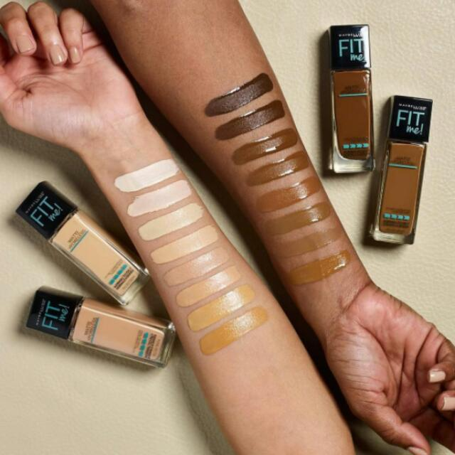 FIT ME MATTE FOUNDIE (ALL SHADES)