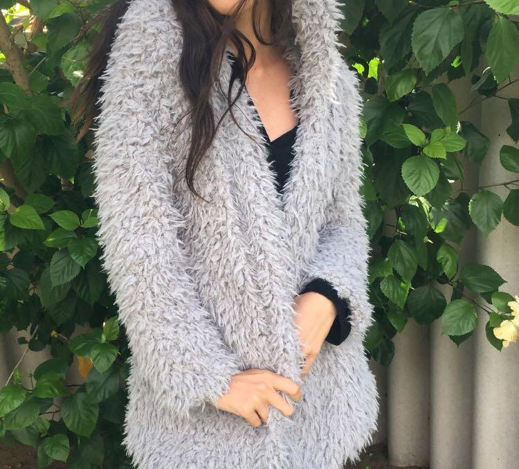 Fluffy coat/jacket