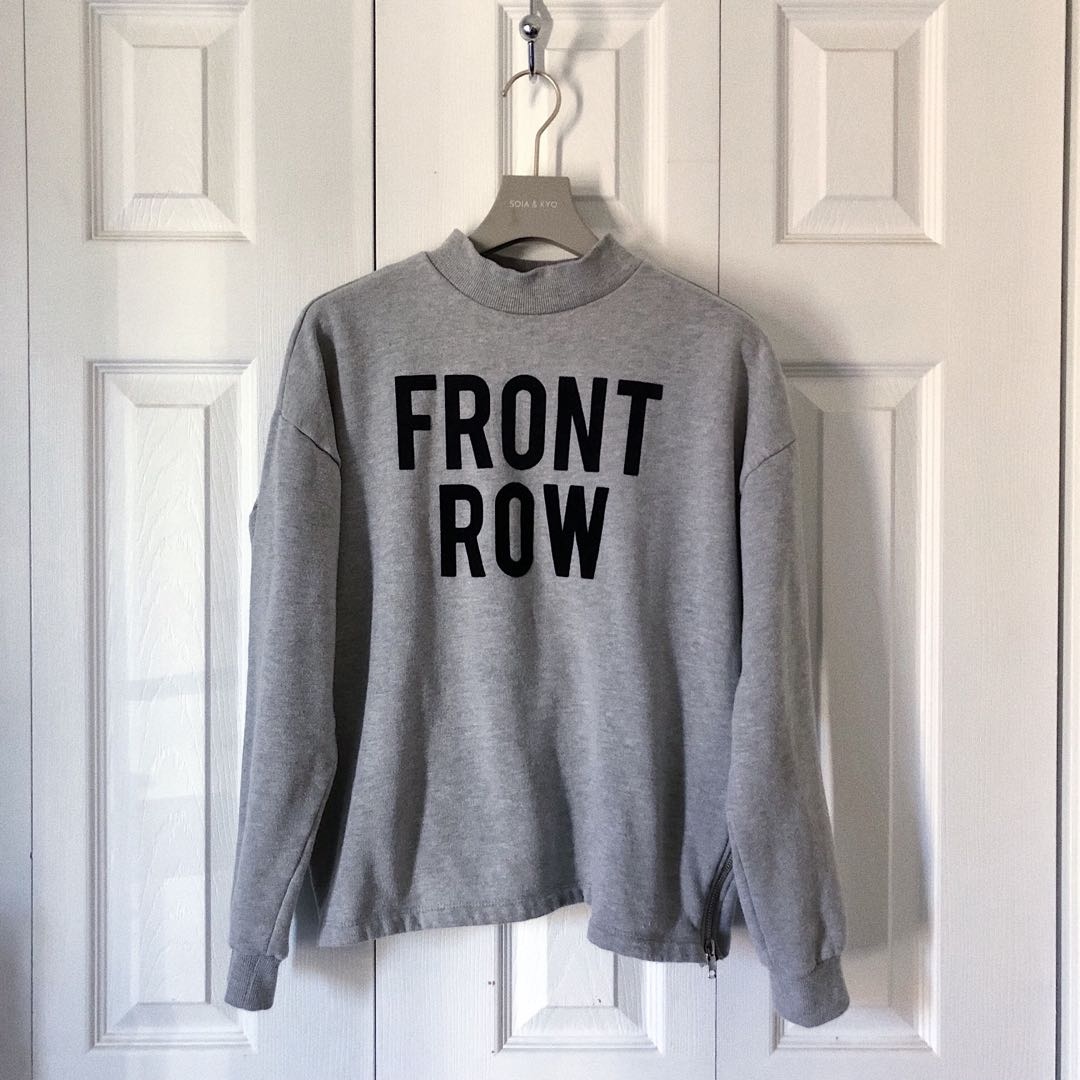 FRONT ROW SWEATER, FOREVER 21.