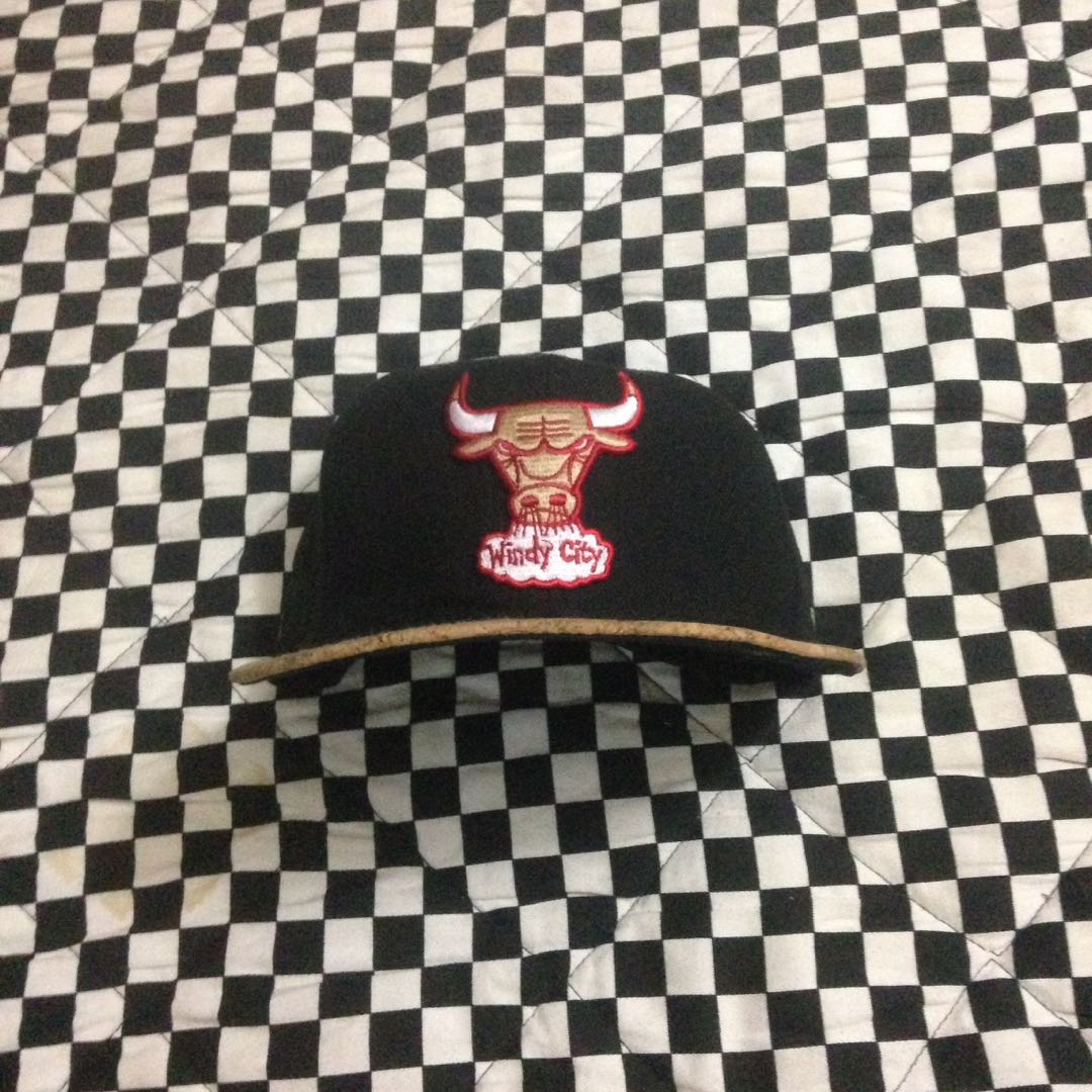 FULLCAP Chicago bulls new ers