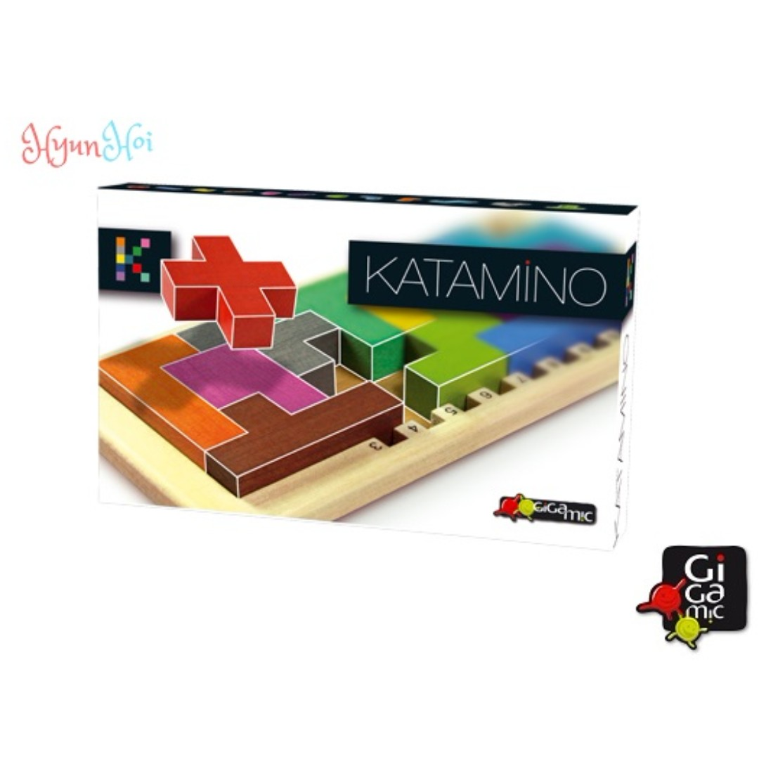 Gigamic Katamino Classic 2d And 3d Wooden Puzzle Challenges