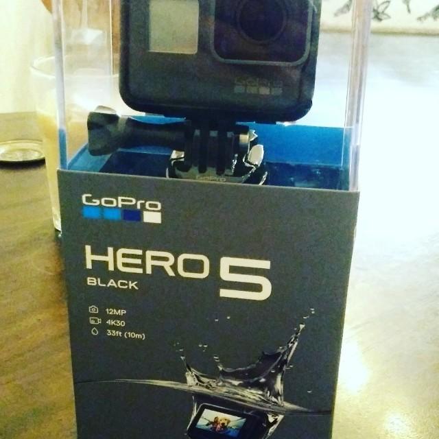 GoPro Hero 5 New Jual Cepet!