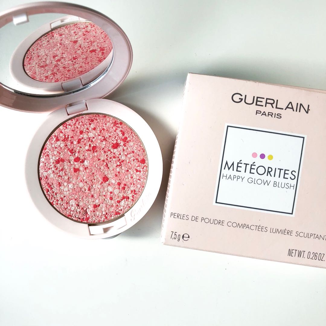 (WEEKENDSALE) Guerlain meteorites happy blush