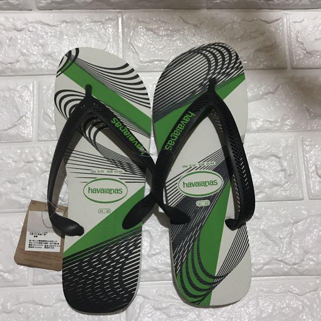 全新正品巴西哈瓦仕havaianas 夾腳拖鞋,純橡膠好穿,尺寸41-42