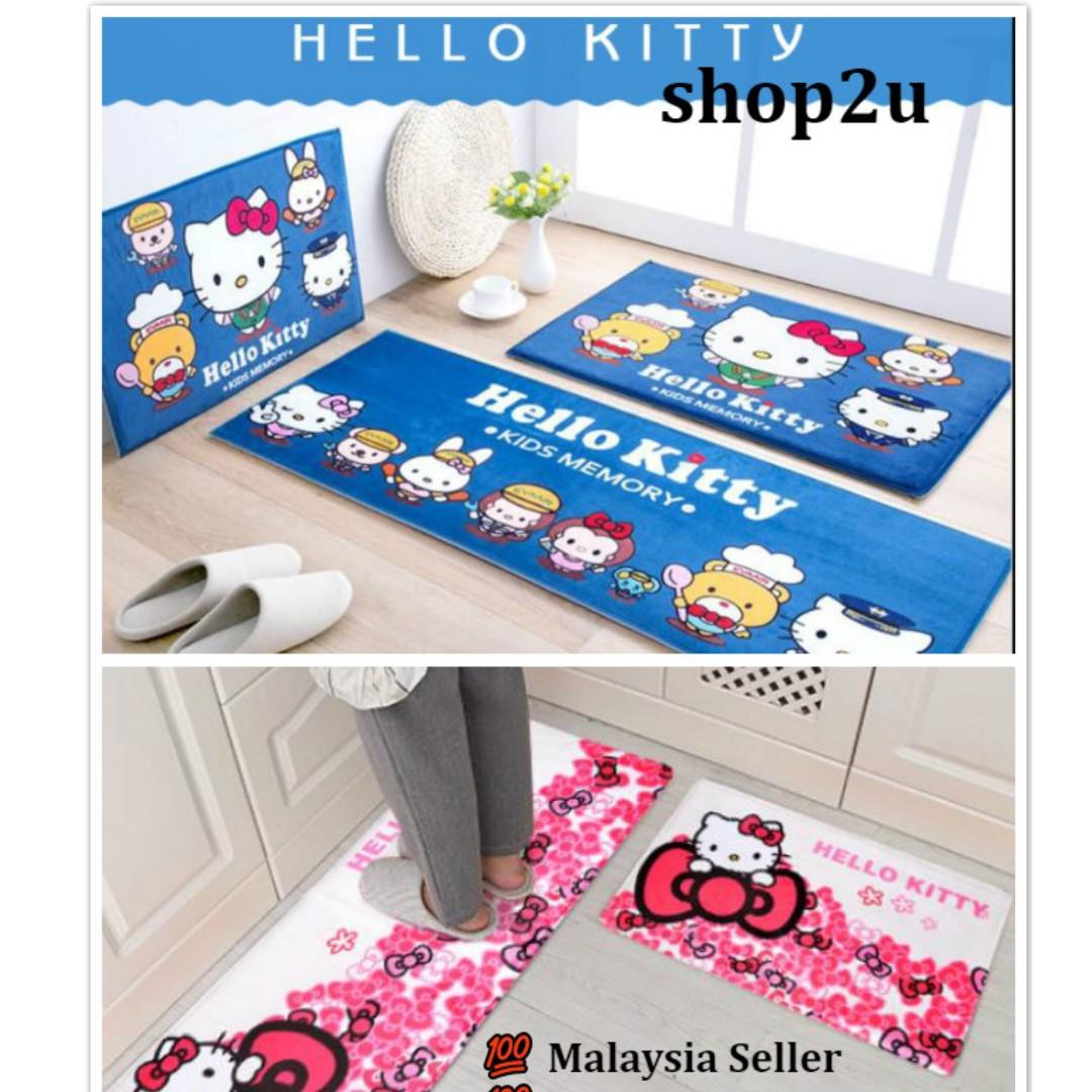 Hello Kitty Soft Non-slip Anti slip Thick Mat Carpet Rug