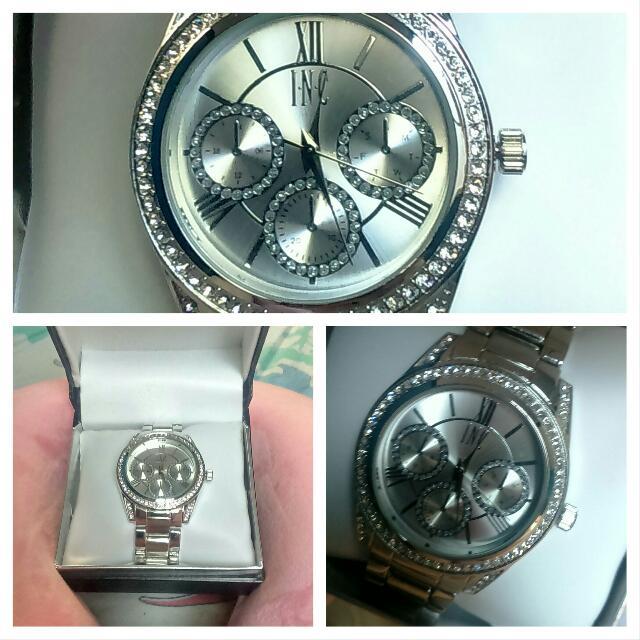 INC Silver Watch (Free SF)