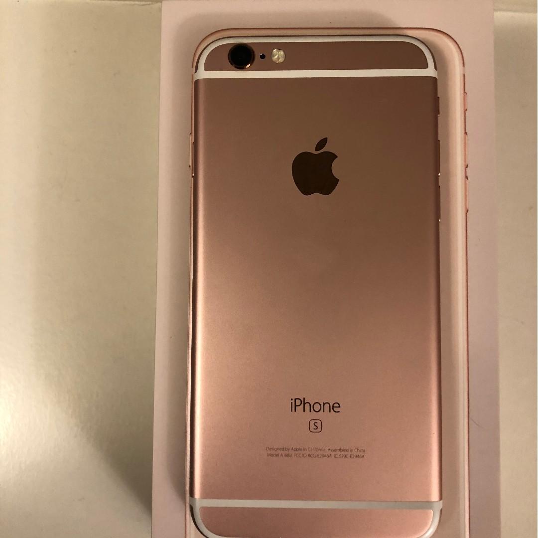 iPhone 6s Rose Gold -unlocked 32gb