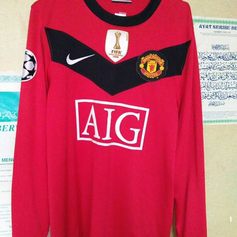 finest selection 2c23b 0a123 Jersi Manchester United Ori