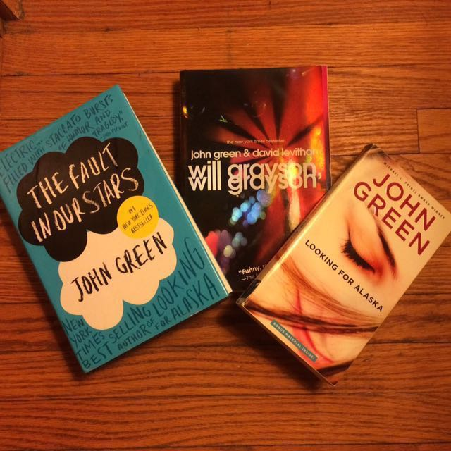 John Green Bundle- The Fault in Our Stars, Will Grayson Will Grayson, Looking for Alaska