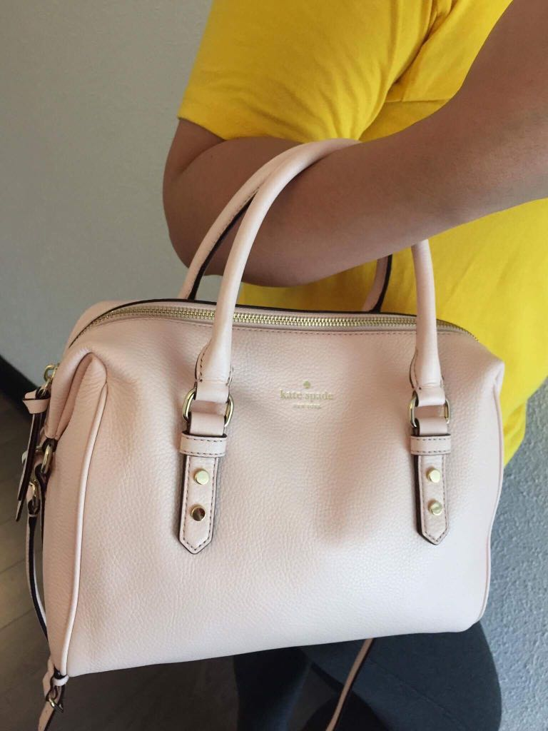 Kate Spade beige two-way bag