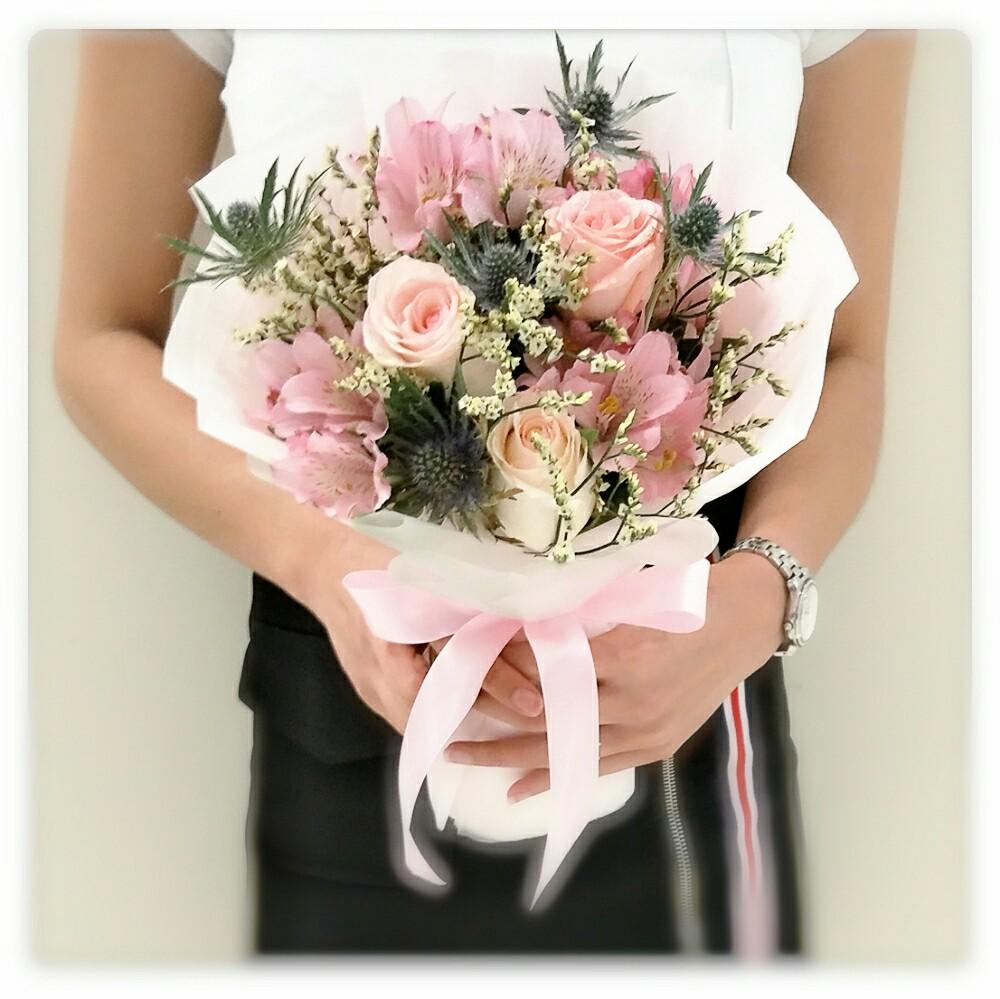 Korean Styled Flower Bouquet Design Craft Handmade Craft On