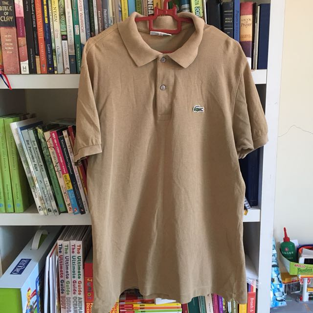 72c2fe0317 Lacoste Polo Shirt, Men's Fashion, Clothes, Tops on Carousell