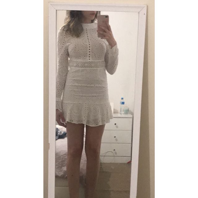 LIONESS WHITE DRESS