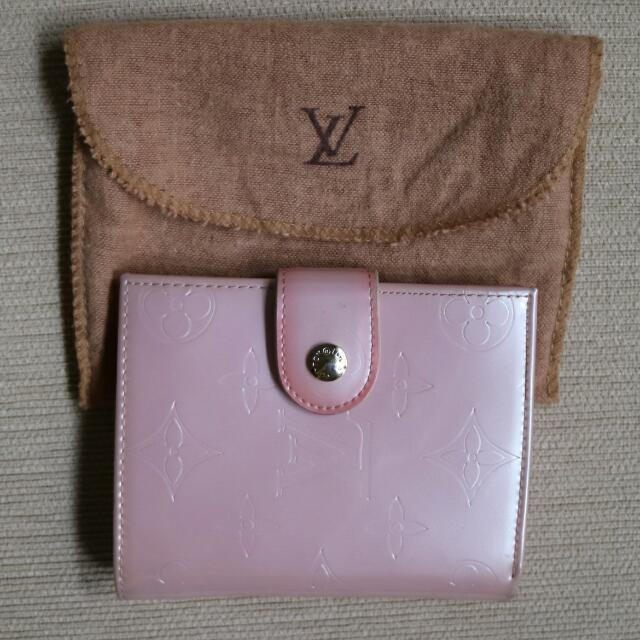 LV Wallet Baby Pink Premium Quality
