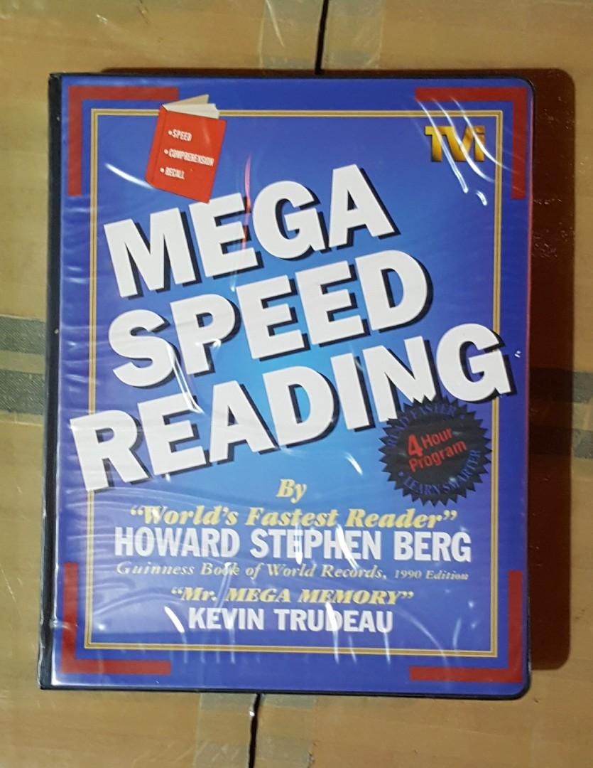 Mega Speed Reading on Carousell