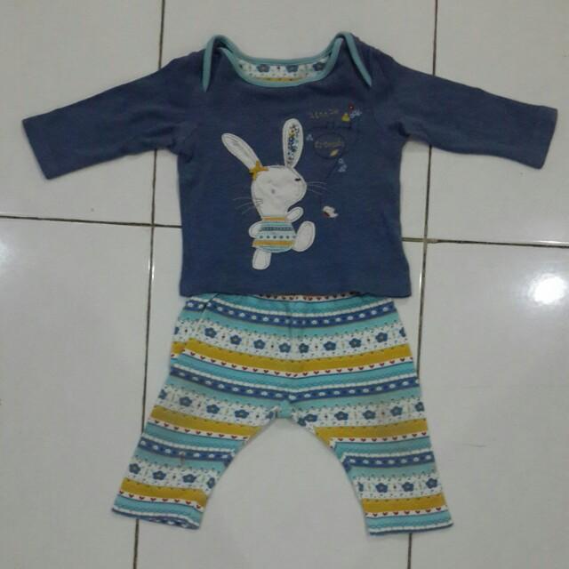 Mothercare baju celana 3-6bln