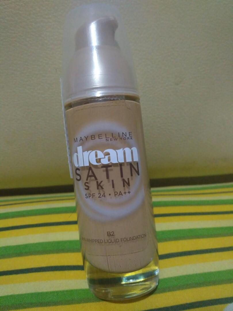Murah!! Maybelline Dream Satin Foundation
