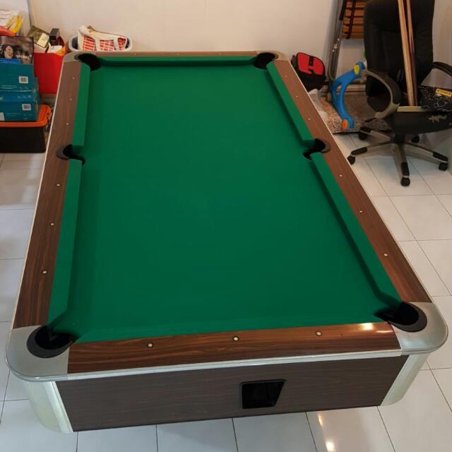 MURREY POOL TABLE Sports Sports Games Equipment On Carousell - Murrey billiard table