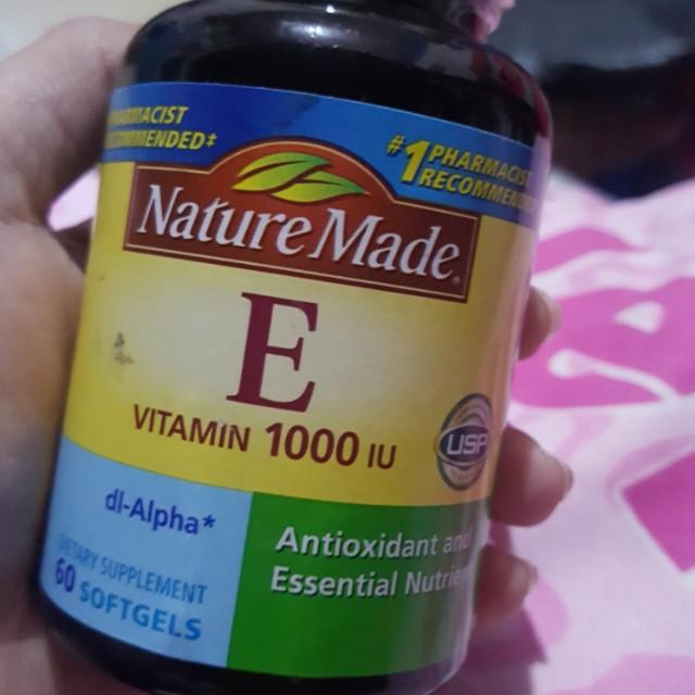 Nature Made Vitamin  E (1000 IU)