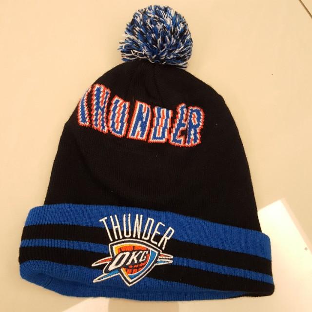 NBA THUNDER雷霆 針織毛帽/NEW ERA