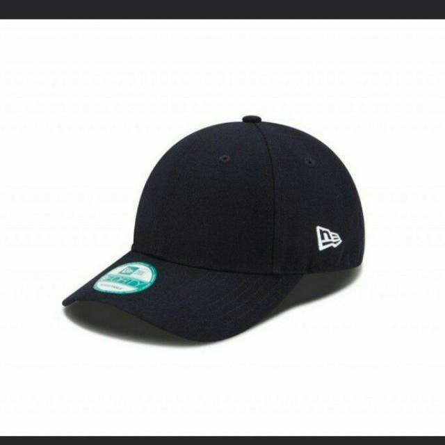 New Era 9forty plain black cap a7e0ee00b83