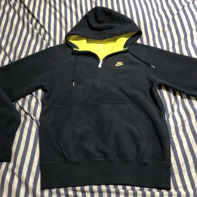 NIKE THERMAFIT half zip hoodie sweater 搖粒絨保暖忍者袖