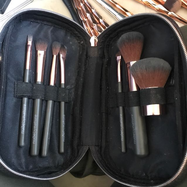 Nude by nature make up brushes