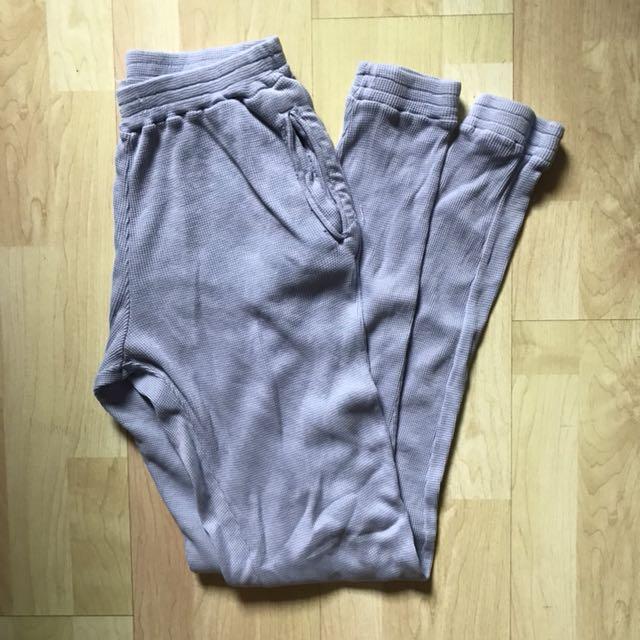 d34711916947 NWOT Brandy Melville Light Blue Thermal Sweatpants