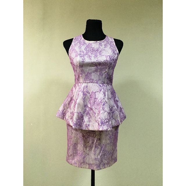 Petit Monde Peplum Dress