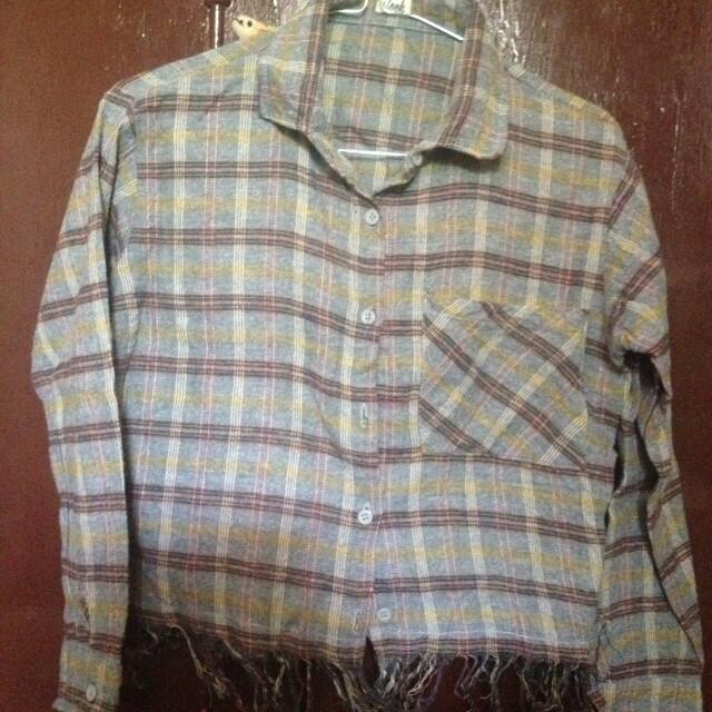 Preloved crop shirt