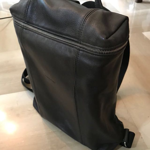 c44ed356ed Price Drop - Longchamp Charcoal Grey Parisis Leather Backpack for Men,  Men's Fashion, Bags & Wallets on Carousell
