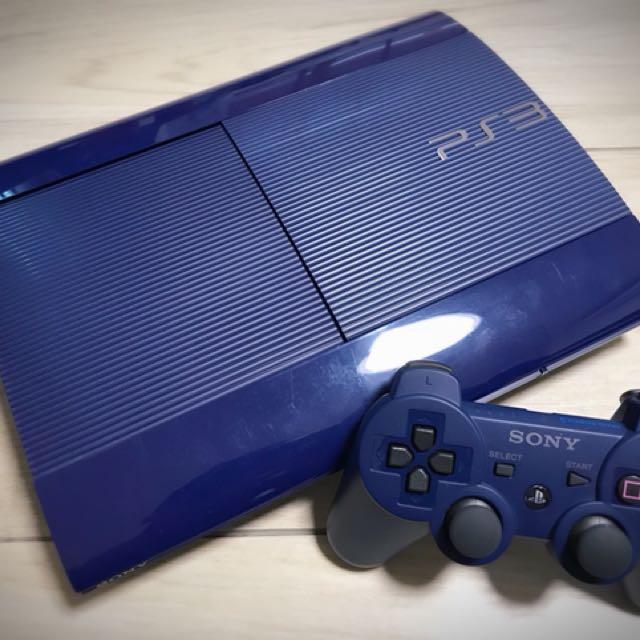 售PS3 CECH-4000B 250G 日版寶石藍