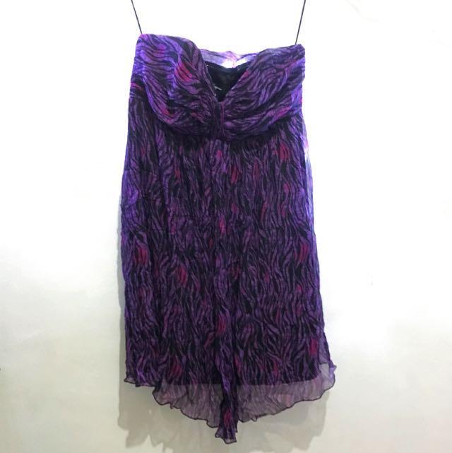 Purple Cocktail Dress