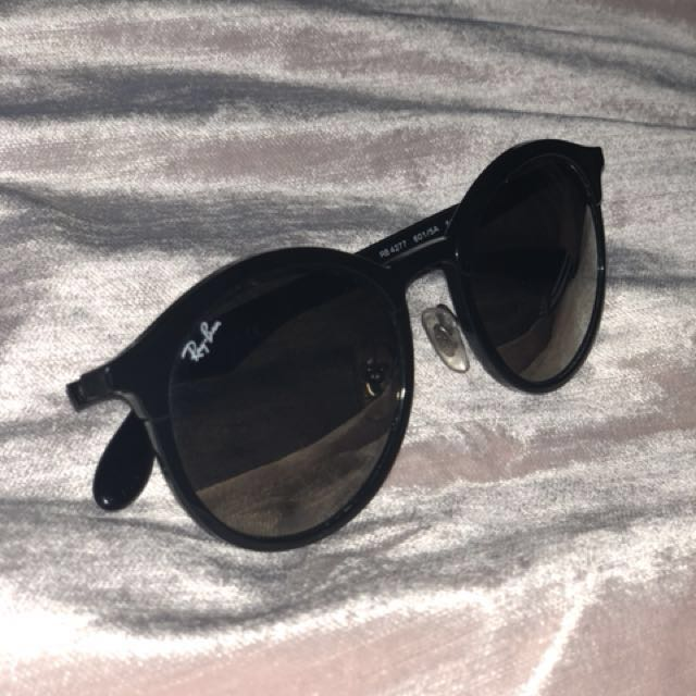 Raybans round light ray