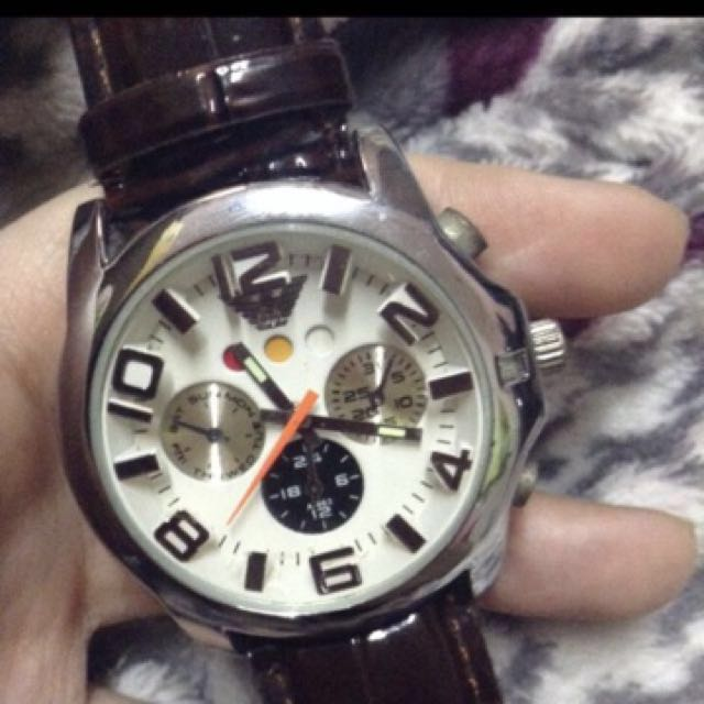 Repriced! HK Leather Watch