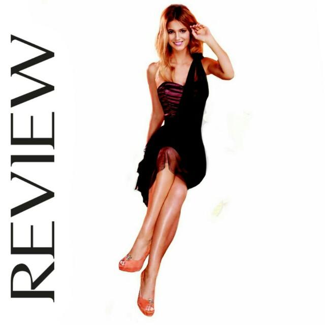 REVIEW 'Carolina' dress  sz 10  New RRP$300