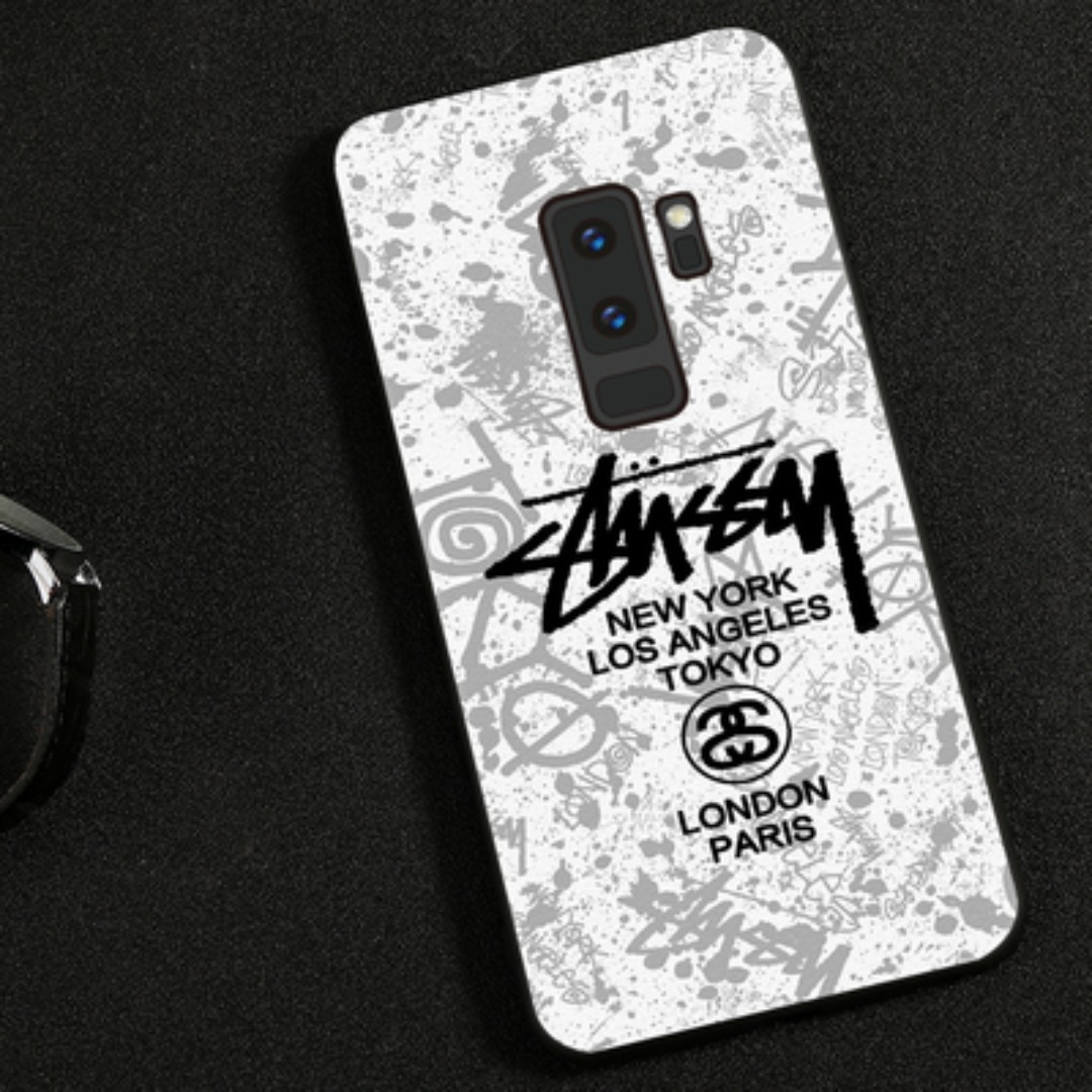 cheap for discount 1cf0b 451b3 S9 Plus Stussy / Supreme Hand phone Case