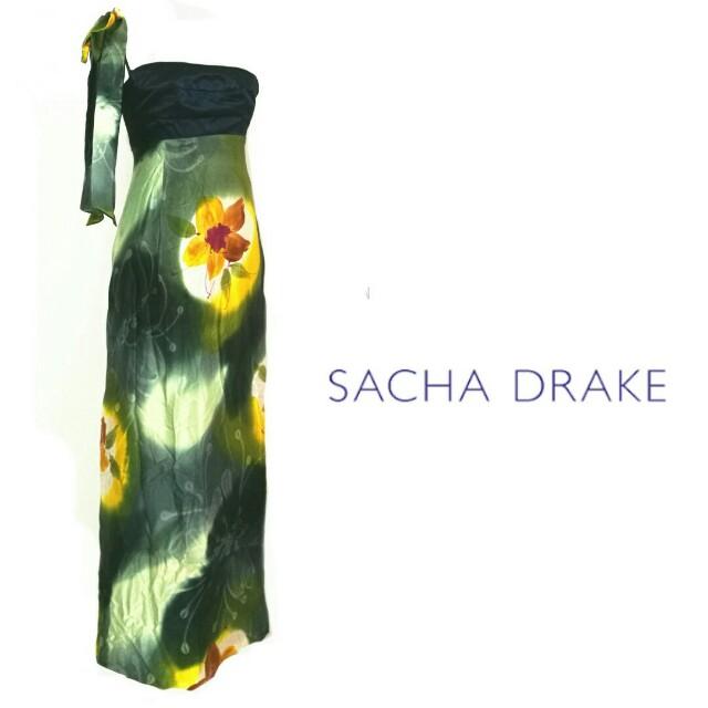 Sacha Drake BNWT  size 8  silk maxi dress