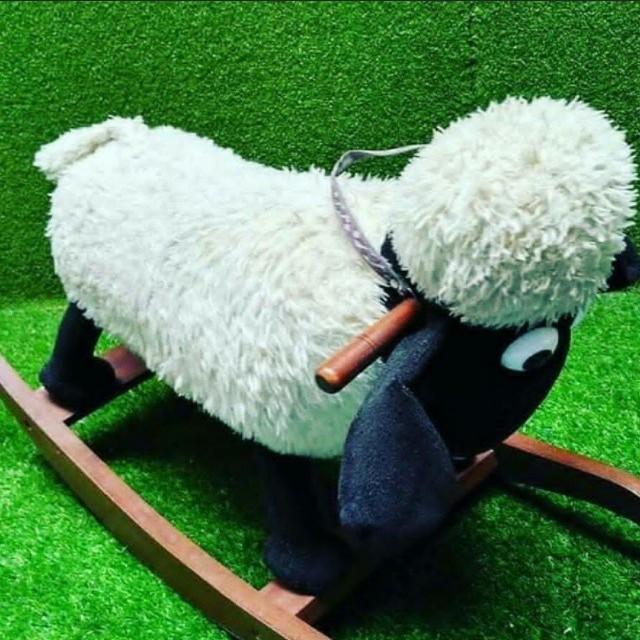 Saun the sheep jungkat jungkit